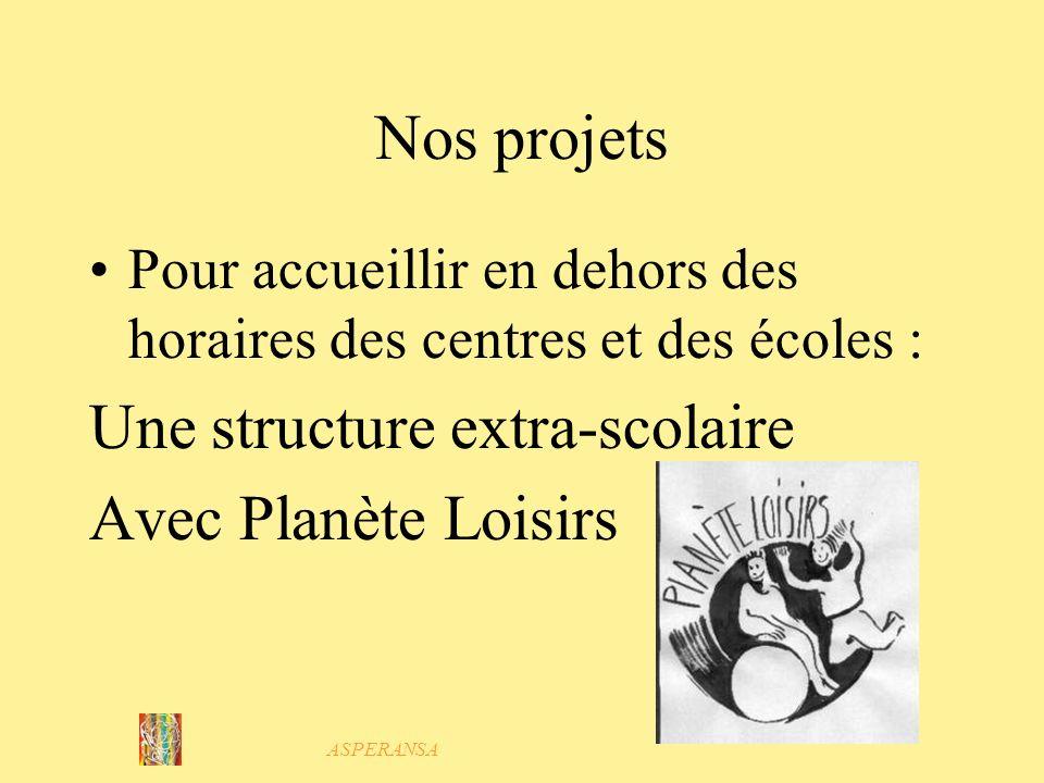 Une structure extra-scolaire Avec Planète Loisirs