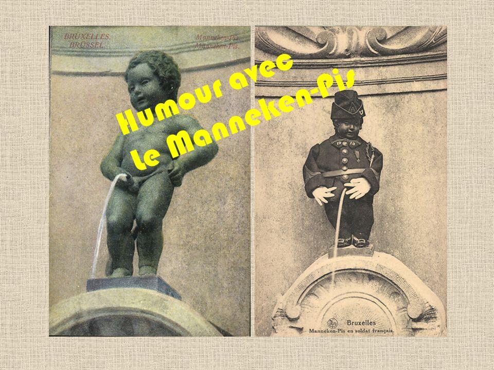 Humour avec Le Manneken-Pis