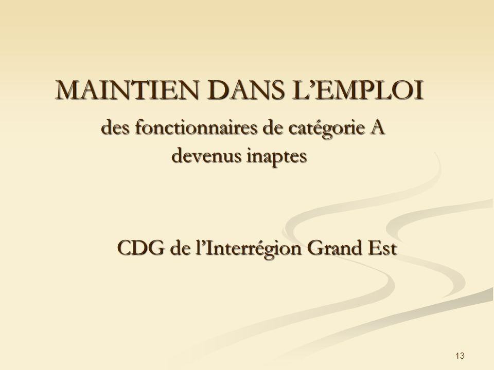 CDG de l'Interrégion Grand Est