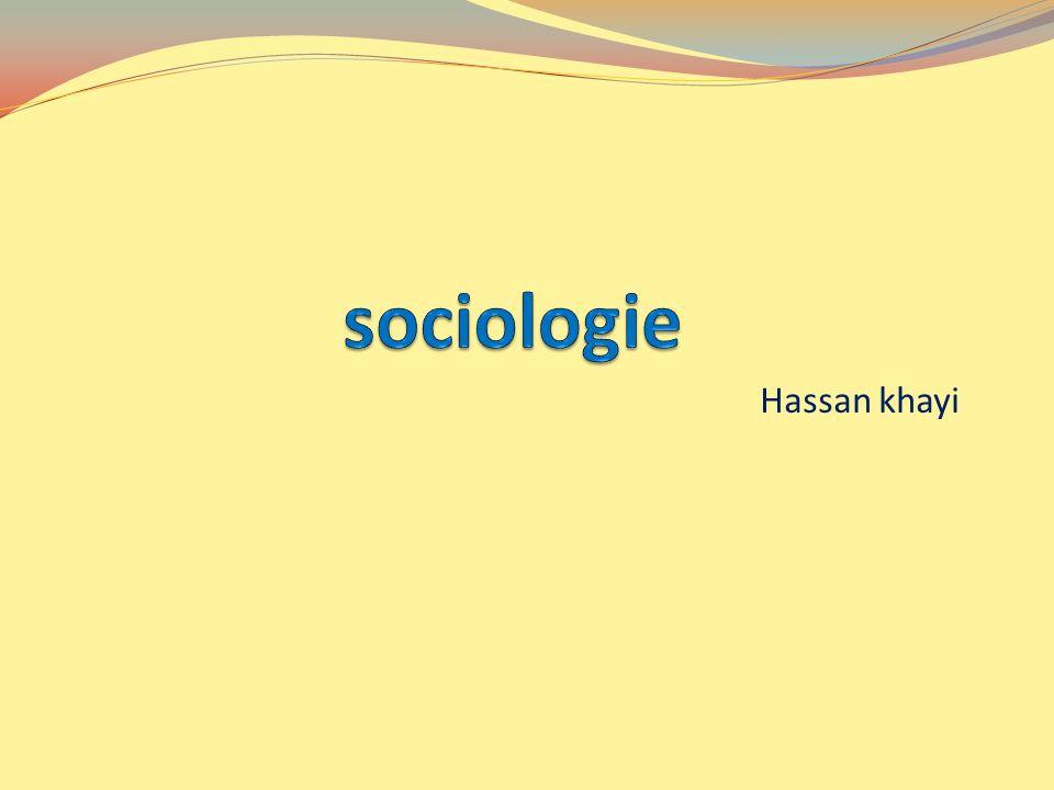 sociologie Hassan khayi