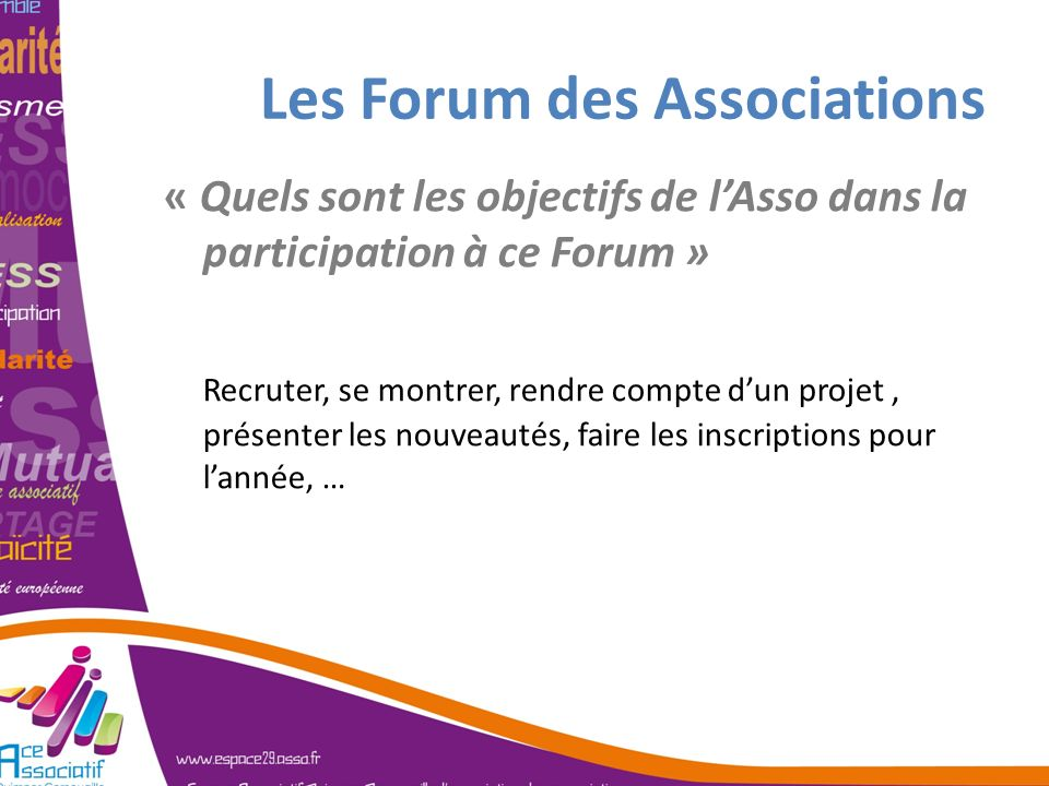 Les Forum des Associations