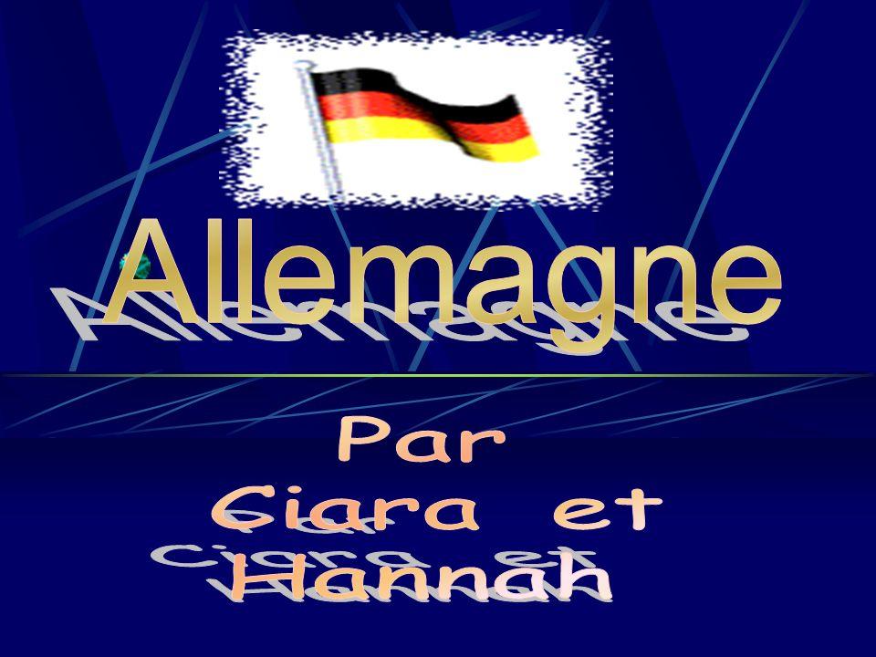 Allemagne Par Ciara et Hannah
