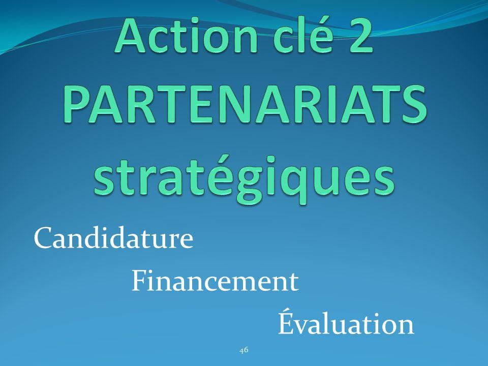 Action clé 2 PARTENARIATS stratégiques
