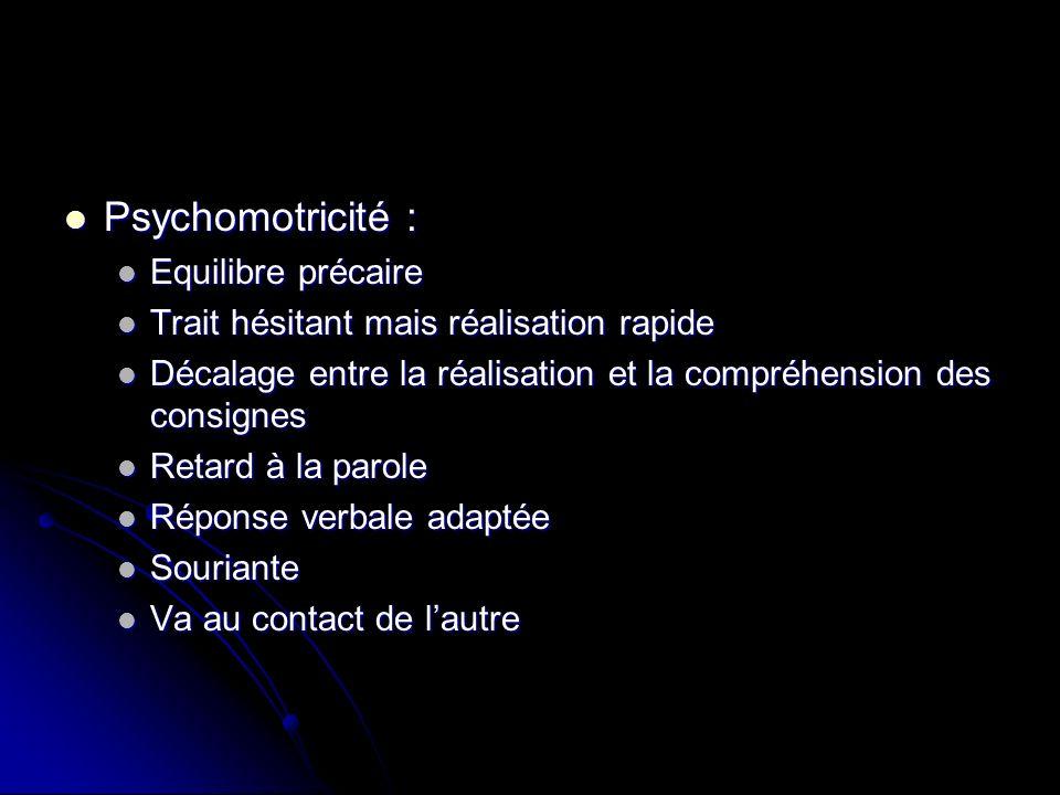 Psychomotricité : Equilibre précaire