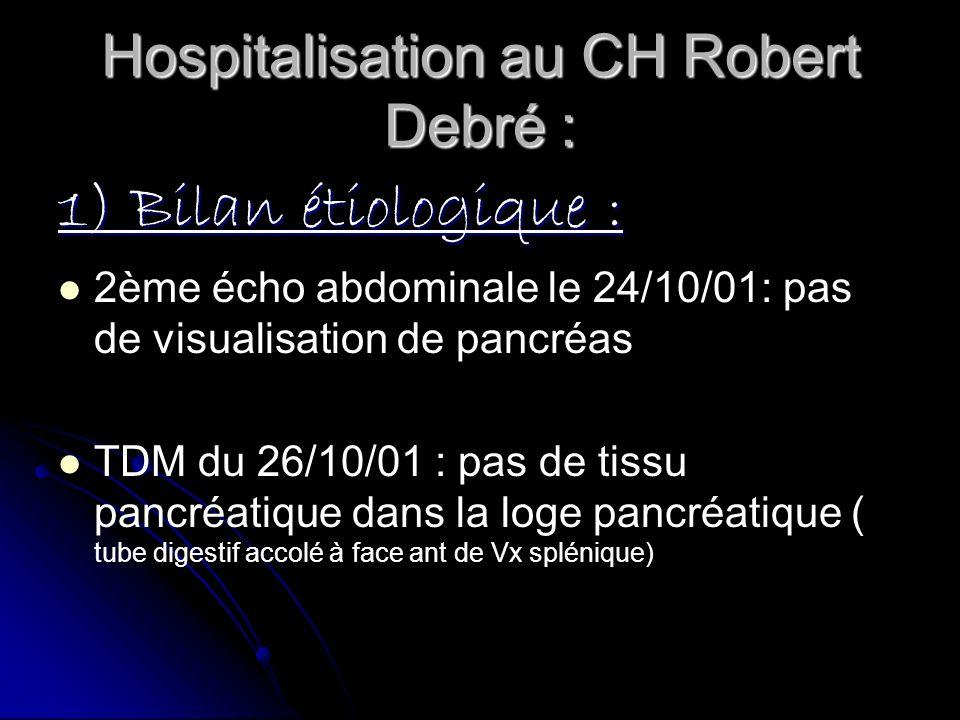 Hospitalisation au CH Robert Debré :