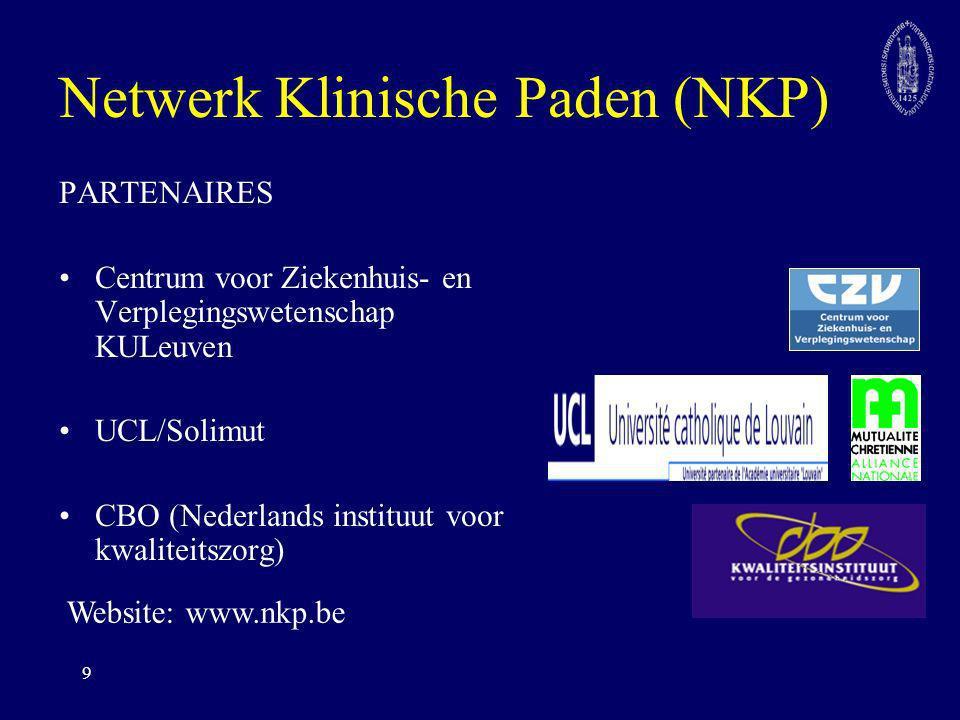 Netwerk Klinische Paden (NKP)