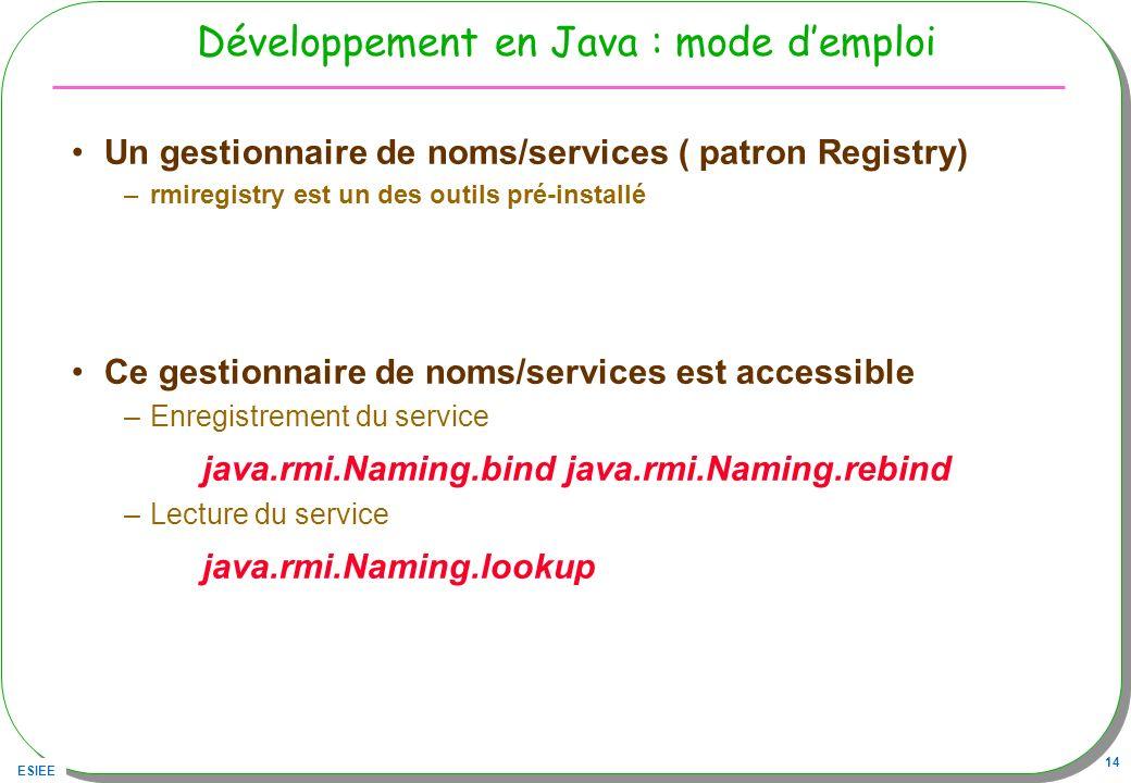Développement en Java : mode d'emploi