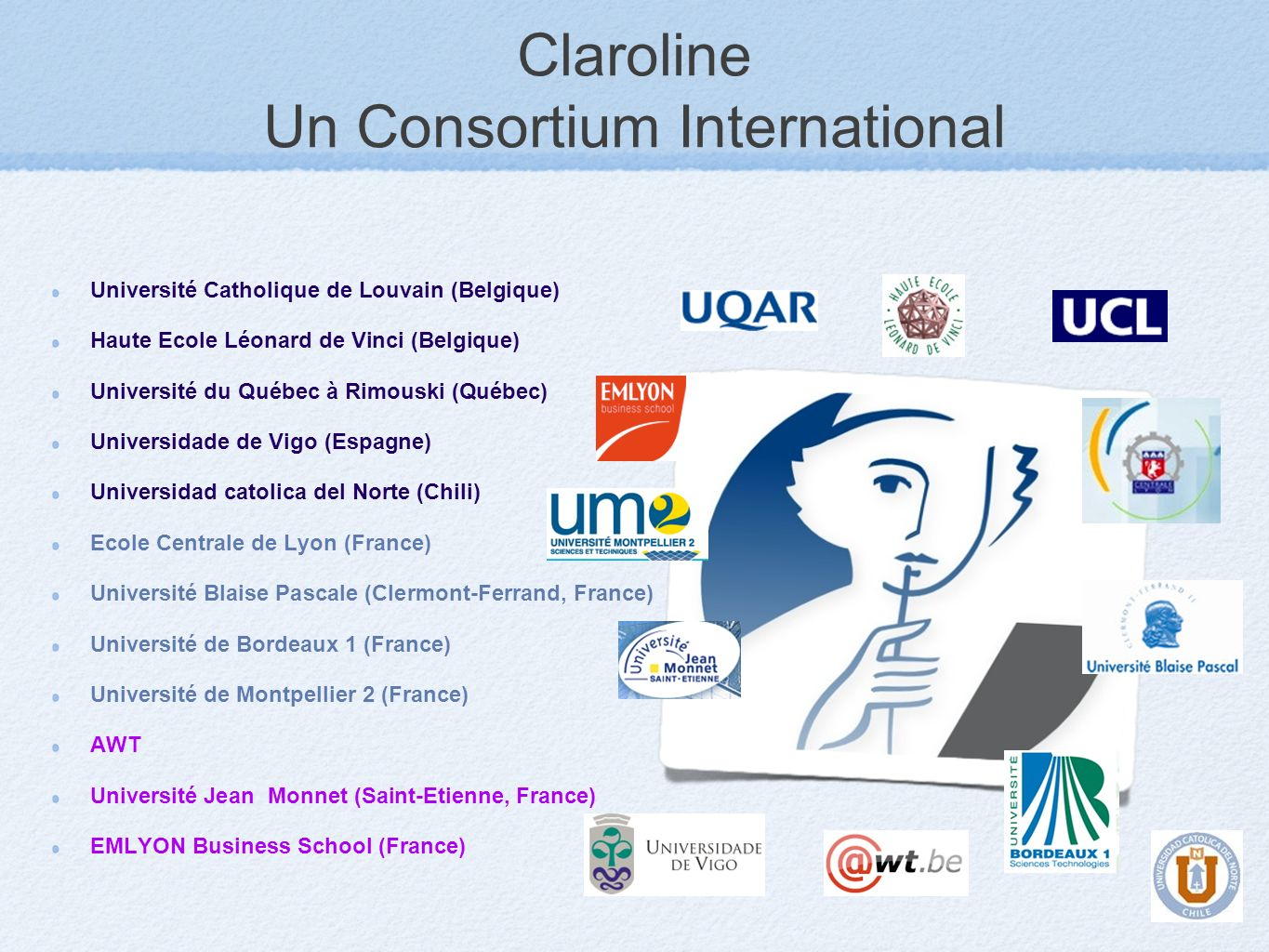 Claroline Un Consortium International