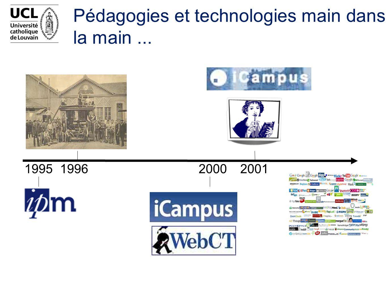 Pédagogies et technologies main dans la main ...