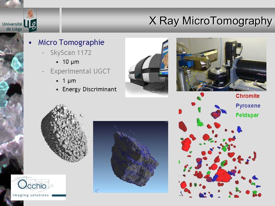 X Ray MicroTomography Micro Tomographie SkyScan 1172 Experimental UGCT