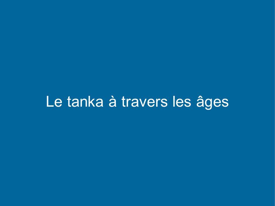 Le tanka à travers les âges