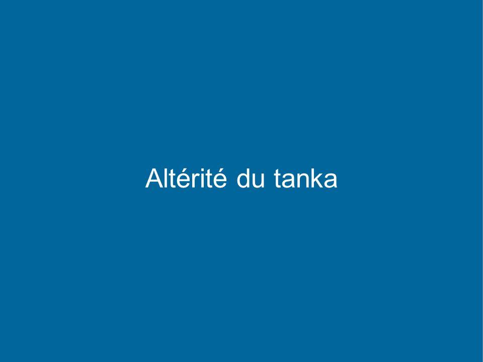 Altérité du tanka