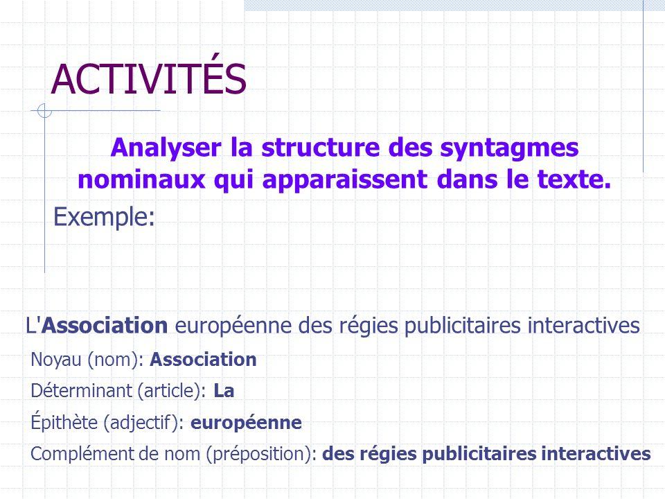 L Association européenne des régies publicitaires interactives