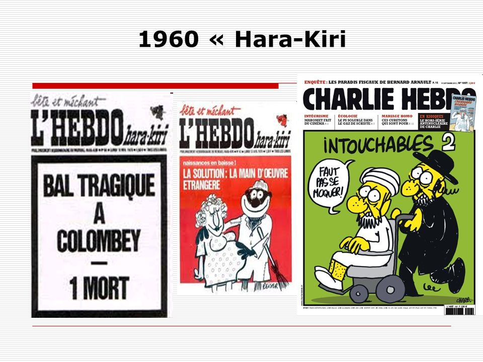 1960 « Hara-Kiri