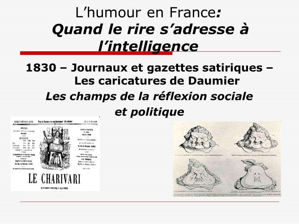 L'humour en France: Quand le rire s'adresse à l'intelligence