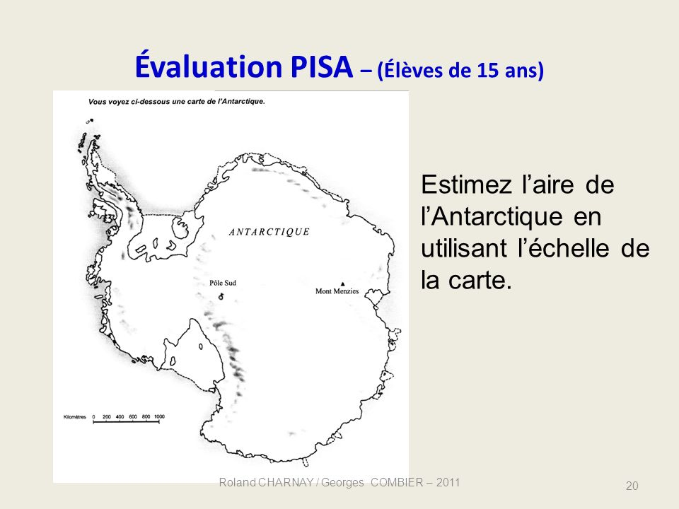Évaluation PISA – (Élèves de 15 ans)