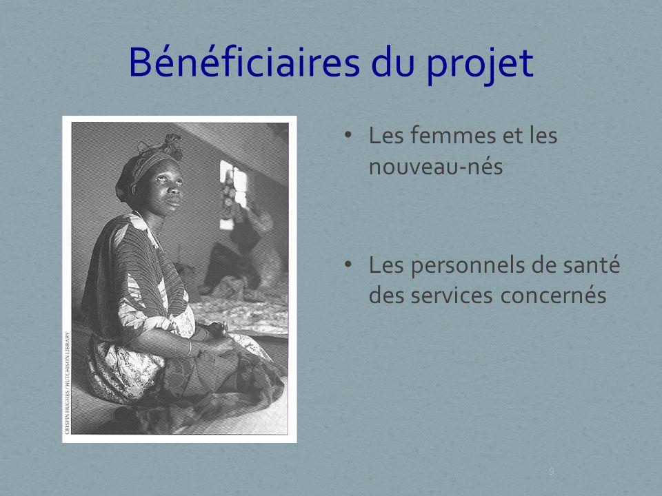 Bénéficiaires du projet