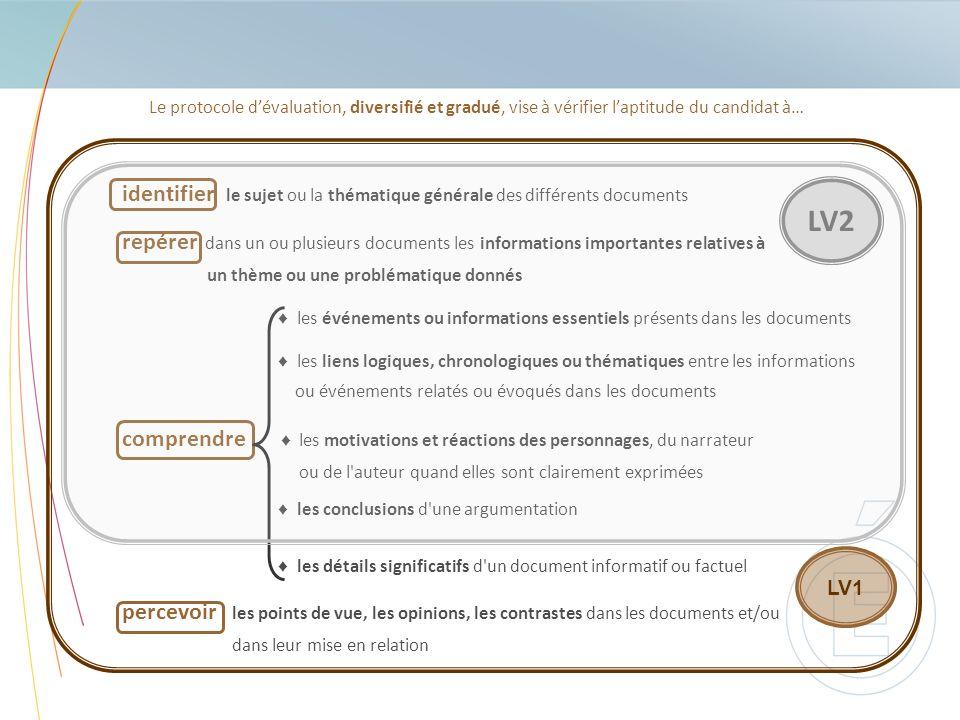 Le protocole d'évaluation, diversifié et gradué, vise à vérifier l'aptitude du candidat à…