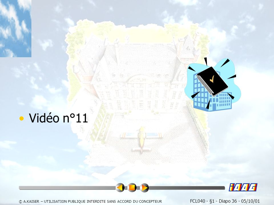 Vidéo n°11