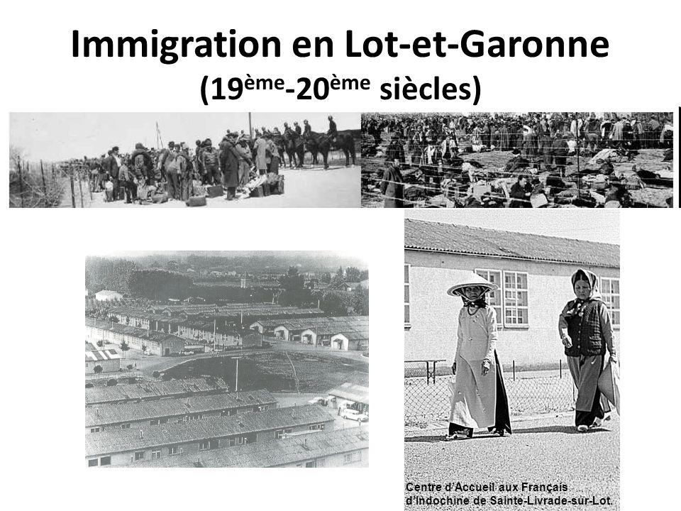 Immigration en Lot-et-Garonne (19ème-20ème siècles)