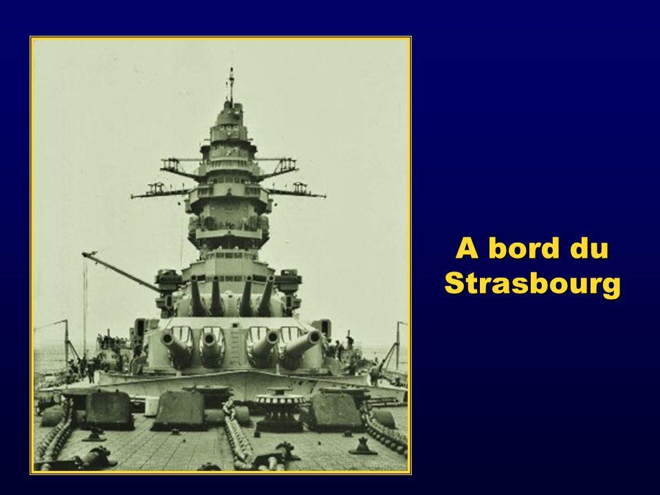 A bord du Strasbourg
