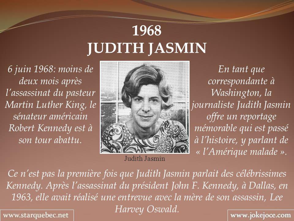 1968 JUDITH JASMIN.