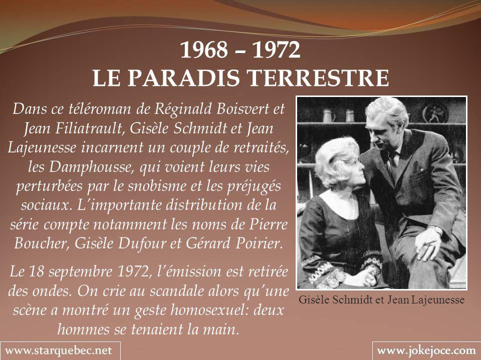 Gisèle Schmidt et Jean Lajeunesse