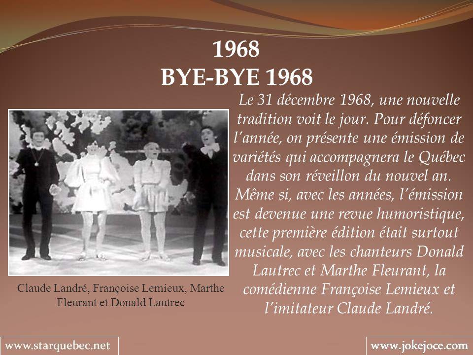 Claude Landré, Françoise Lemieux, Marthe Fleurant et Donald Lautrec
