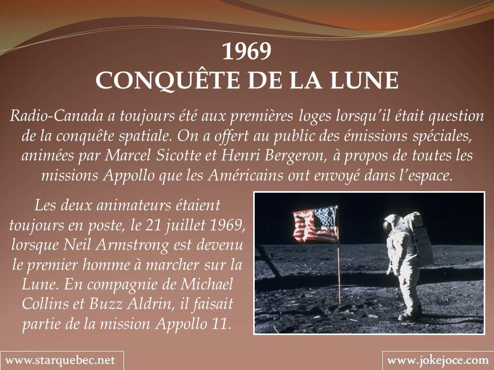 1969 CONQUÊTE DE LA LUNE.