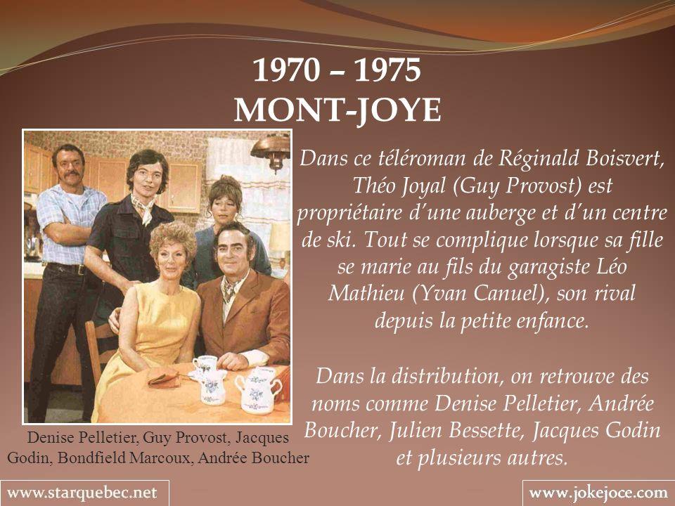 1970 – 1975 MONT-JOYE.