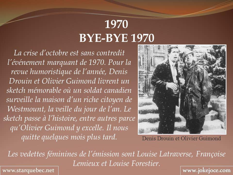Denis Drouin et Olivier Guimond