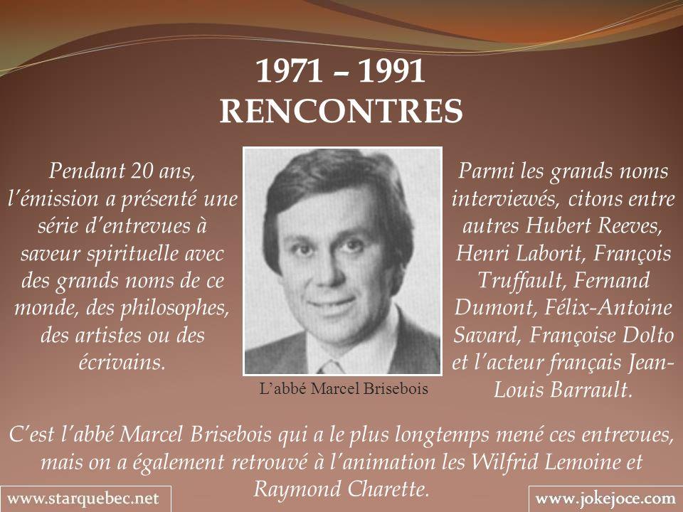 L'abbé Marcel Brisebois