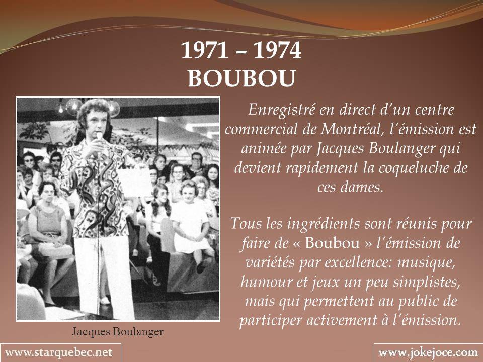 1971 – 1974 BOUBOU.