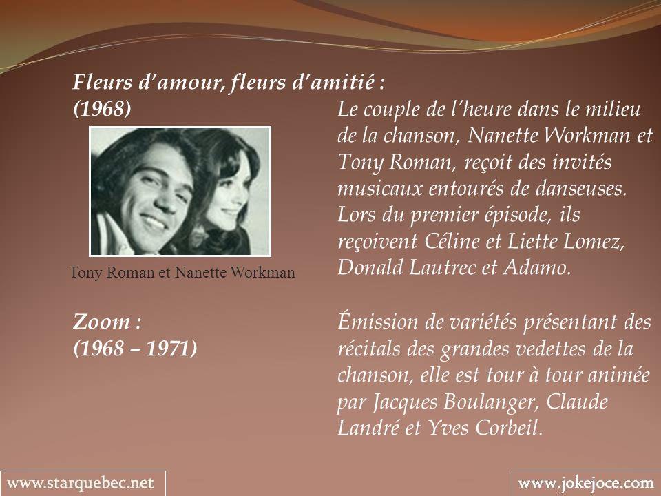 Tony Roman et Nanette Workman