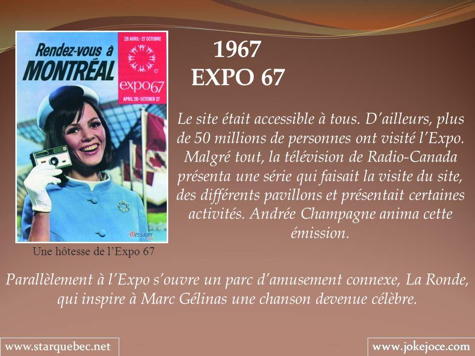 1967 EXPO 67.