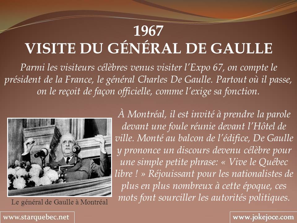 VISITE DU GÉNÉRAL DE GAULLE