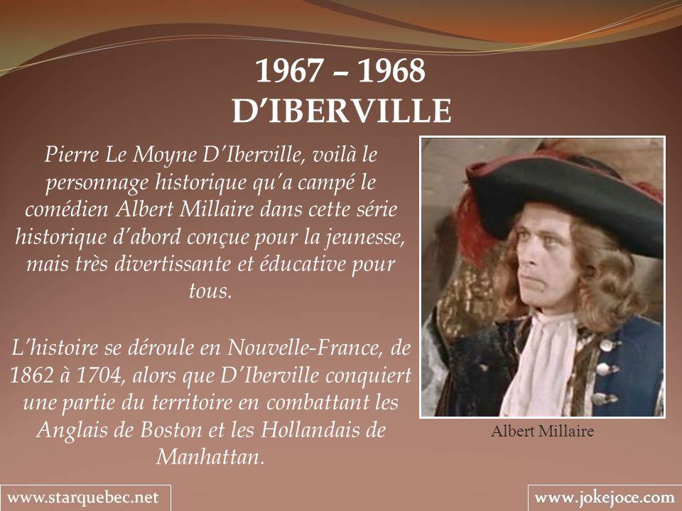 1967 – 1968 D'IBERVILLE.