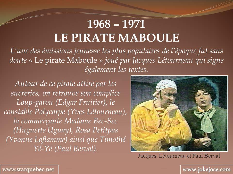 Jacques Létourneau et Paul Berval