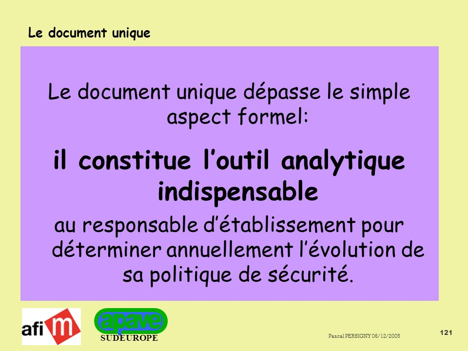 il constitue l'outil analytique indispensable