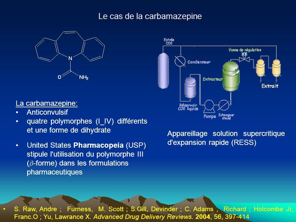 Le cas de la carbamazepine
