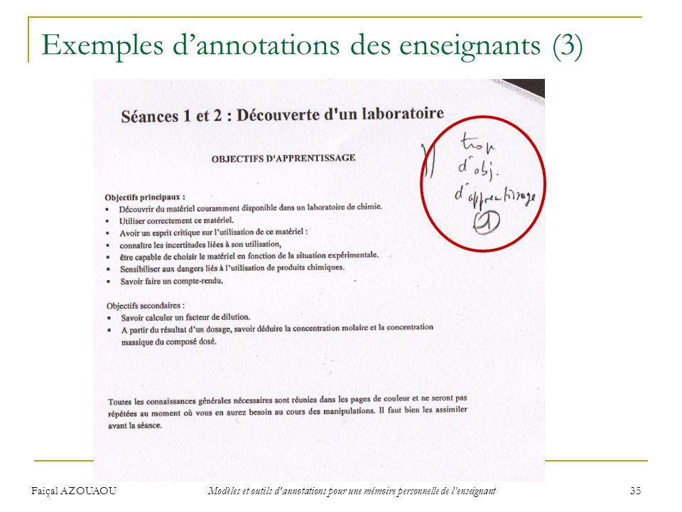 Exemples d'annotations des enseignants (3)