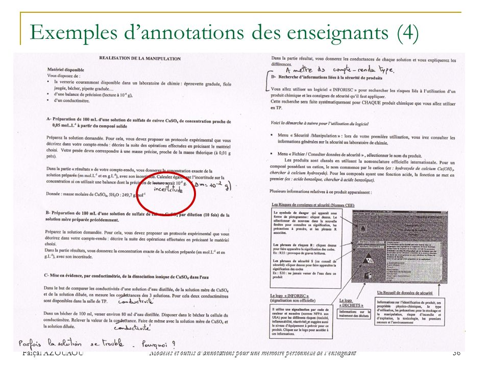 Exemples d'annotations des enseignants (4)