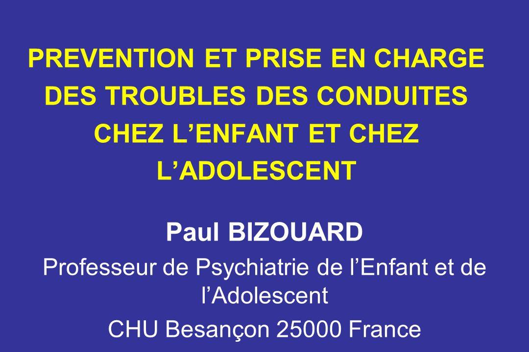 Professeur de Psychiatrie de l'Enfant et de l'Adolescent