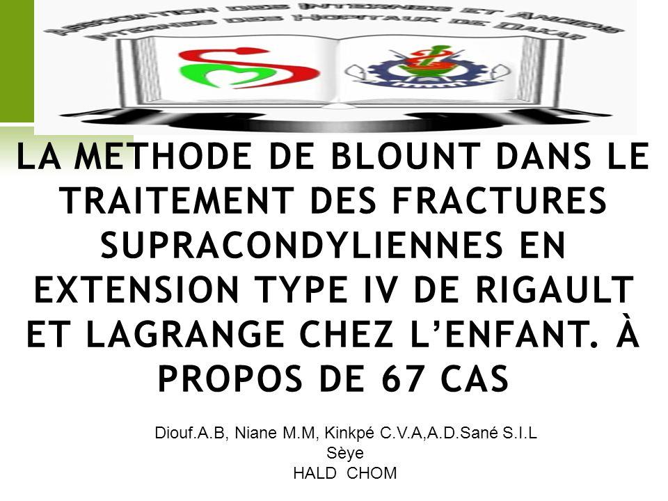 Diouf.A.B, Niane M.M, Kinkpé C.V.A,A.D.Sané S.I.L Sèye