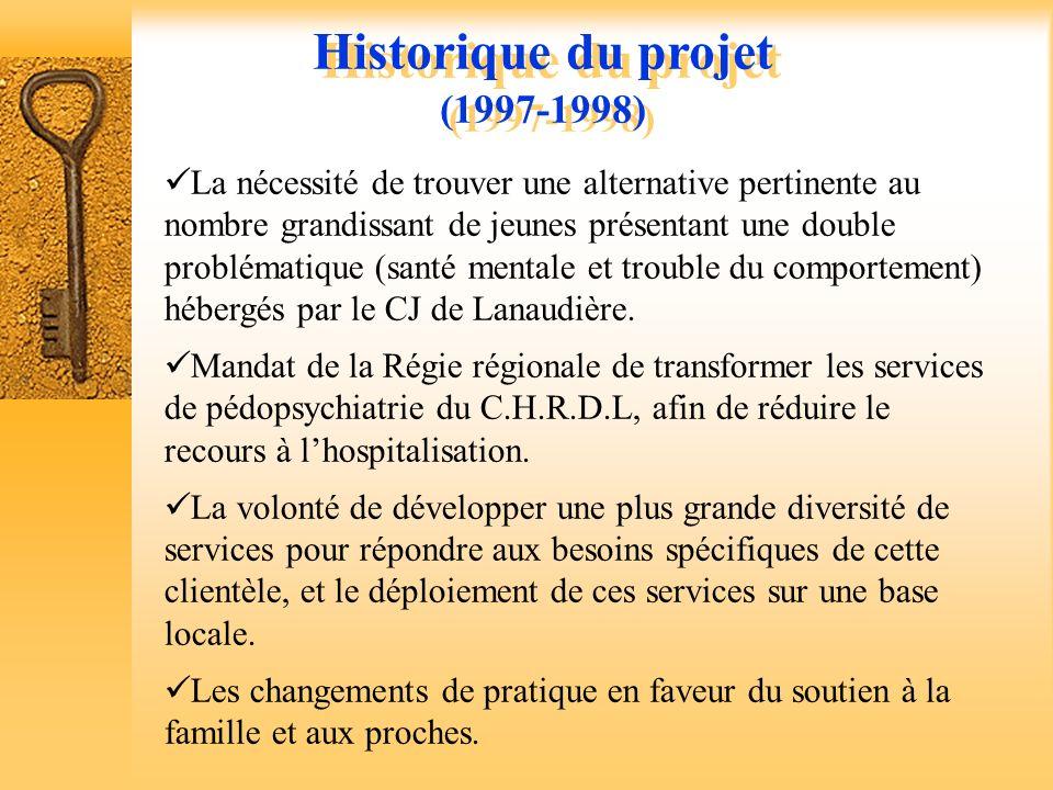 Historique du projet (1997-1998)