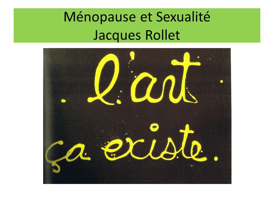 Ménopause et Sexualité Jacques Rollet