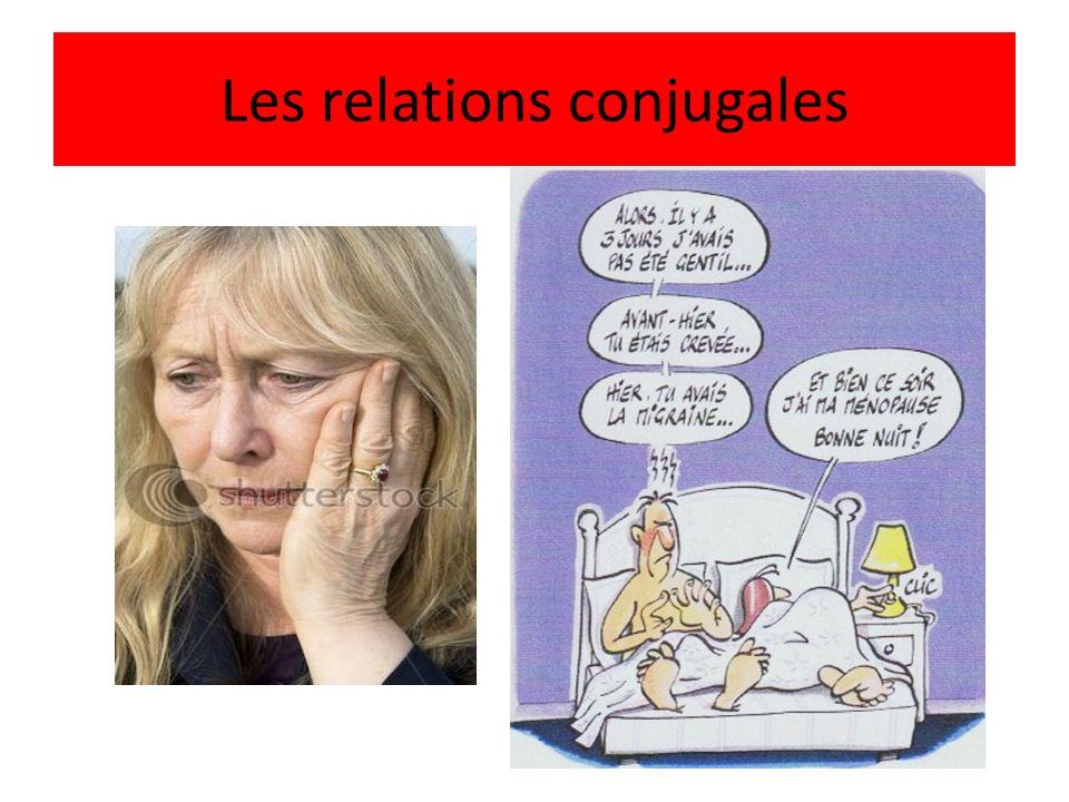 Les relations conjugales