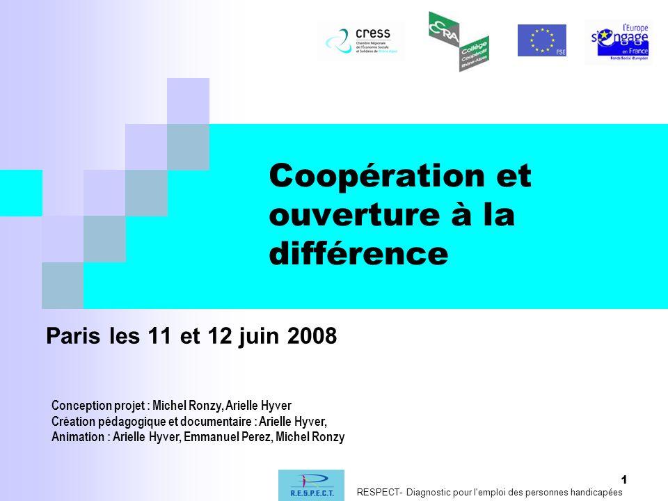 Coopération et ouverture à la différence