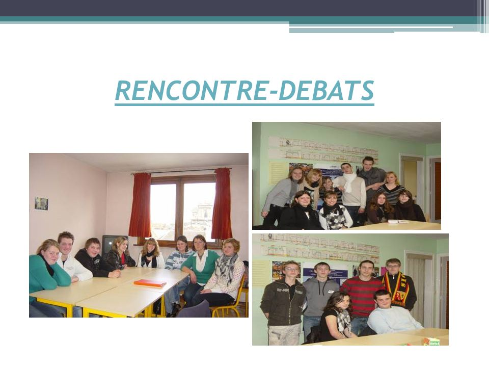 RENCONTRE-DEBATS