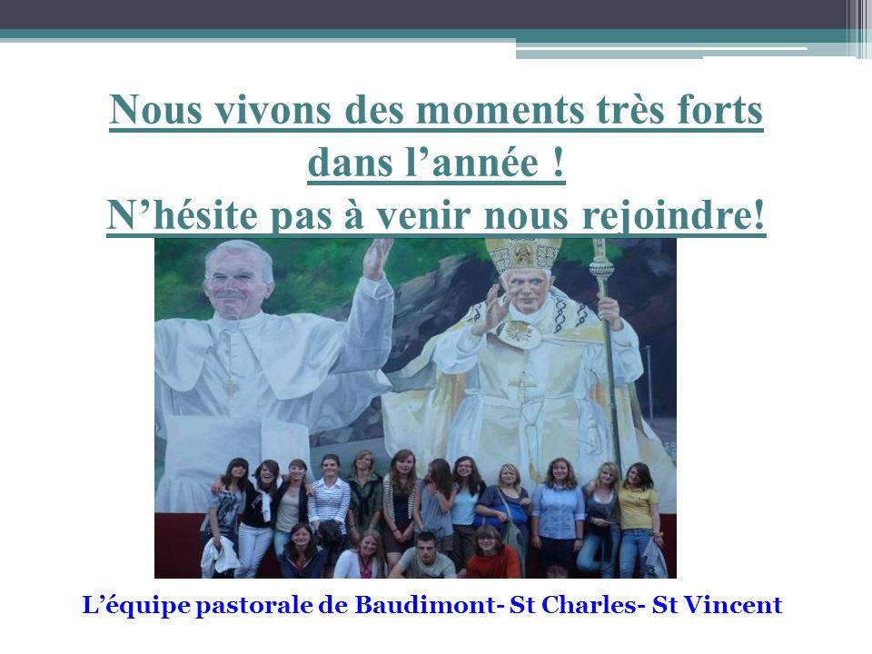 L'équipe pastorale de Baudimont- St Charles- St Vincent